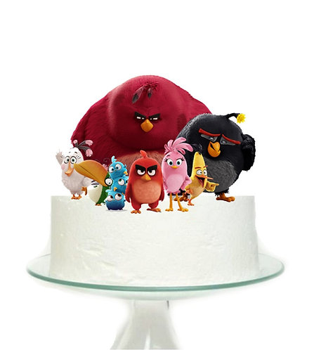 Angry Birds Big Topper for Cake - 1 pcs set