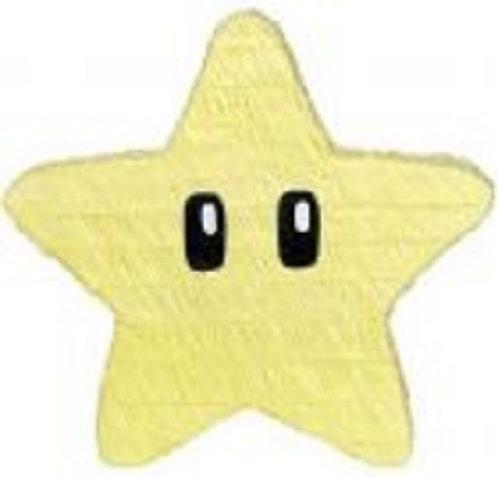 Mario Game Star Birthday Party Pull Strings Pinata - 40cm