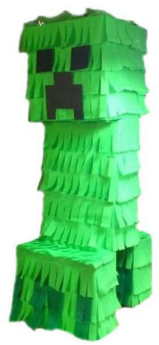 Minecraft Party Pull Strings Pinata - 40cm