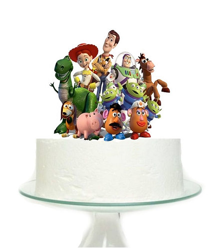 Toy Story Big Topper for Cake - 1 pcs set