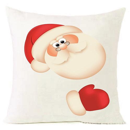 Christmas Santa Claus Cushion Decorative Pillow COTTON OR LINEN - 40cm