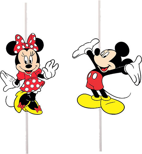 Mickey Minnie Cakepops Toppers - 12 pcs set