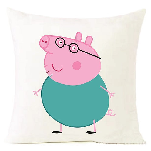 Peppa Pig Dad Cushion Decorative Pillow - 40cm