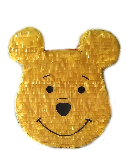 Winnie the Pooh Birthday Party Pull Strings Pinata Round - 40cm