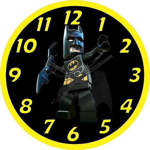 Batman Lego Character Clock