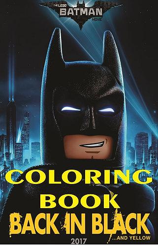 Batman Lego Small Coloring Book