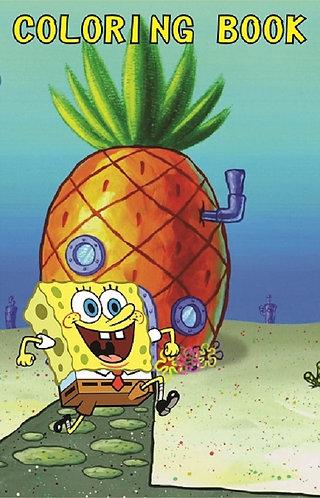 Spongebob Small Coloring Book