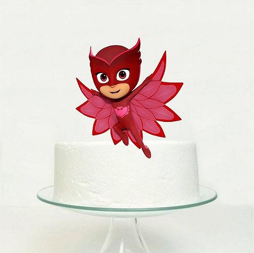 PJ Masks Owlette Big Topper for Cake - 1 pcs set