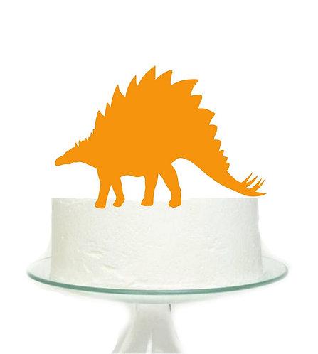Orange Dinosaur Big Topper for Cake - 1 pcs set