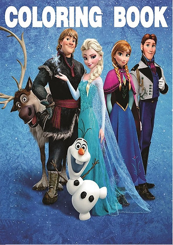 Frozen Small Coloring Book