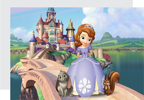 Princess Sofia the First Invitations - 6pcs party invites