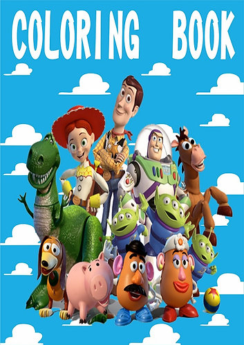Toy Story Small Coloring Book