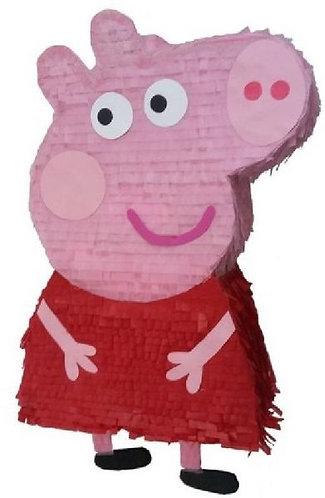 Peppa Pig Birthday Party Pull Strings Pinata - 40cm