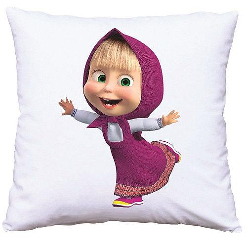 Masha and the Bear Cushion Decorative Pillow - 40cm