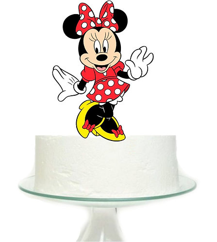 Minnie Big Topper for Cake - 1 pcs set