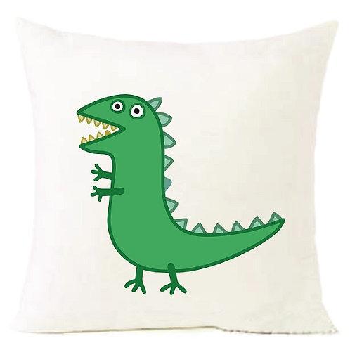Peppa Pig Dinosaur Cushion Decorative Pillow - 40cm