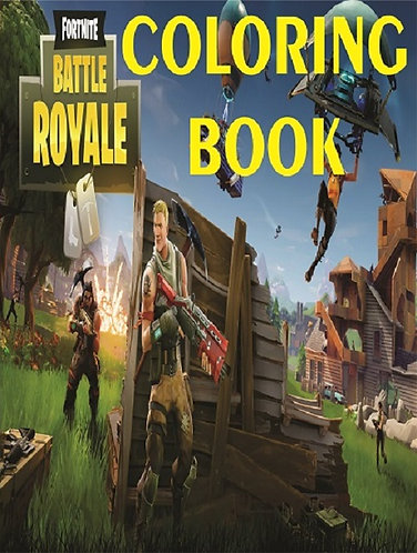 Fortnite Small Coloring Book