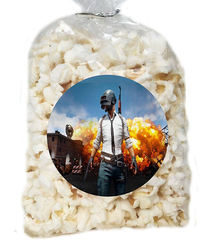 PUBG Game Giveaways Clear Bags for Popcorn or Candies - 12 pcs set