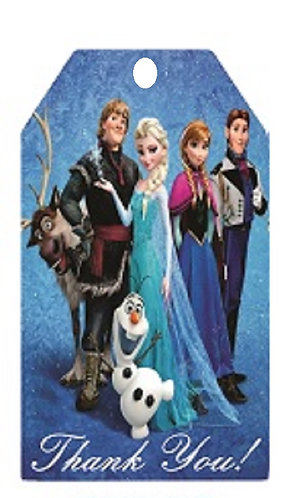 Frozen Gifts Tags - 12 pcs set