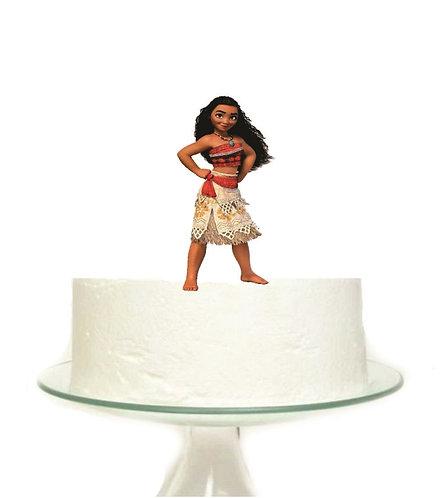 Moana Big Topper for Cake - 1 pcs set