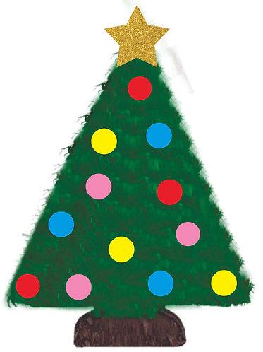 Christmas Tree Birthday Party Pull Strings Pinata -40 cm