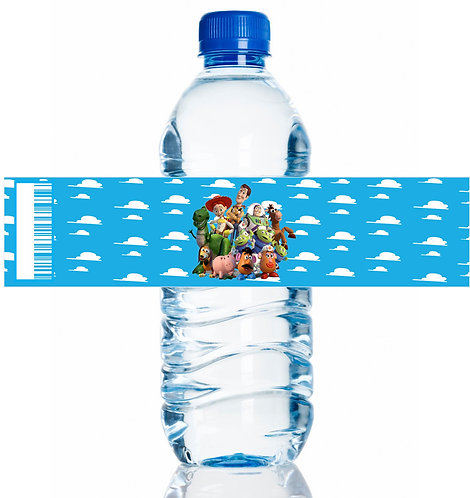 Toy Story Water Bottles Stickers - 6 pcs set