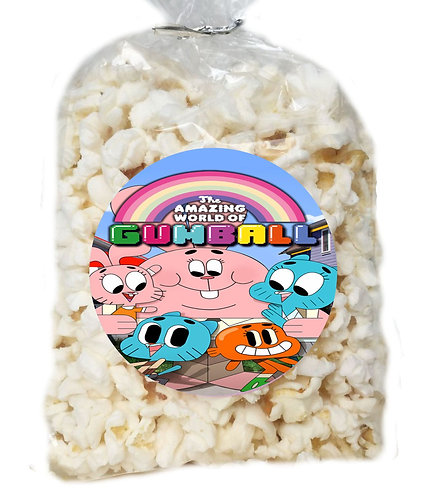 Gumball Giveaways Clear Bags for Popcorn or Candies - 12 pc
