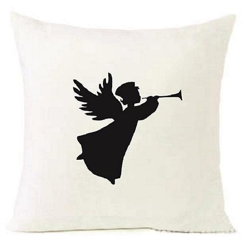 Christmas Angel Trumpet Cushion Decorative Pillow COTTON OR LINEN -40cm