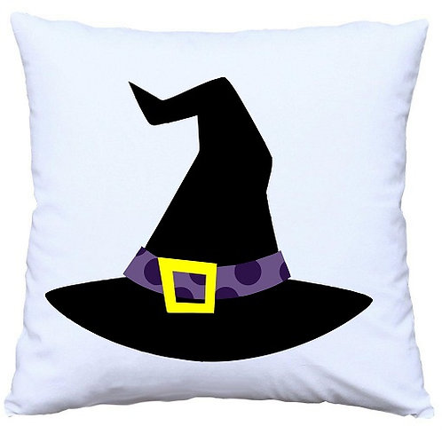 Halloween Witch Hat Cushion Decorative Pillow - 40cm