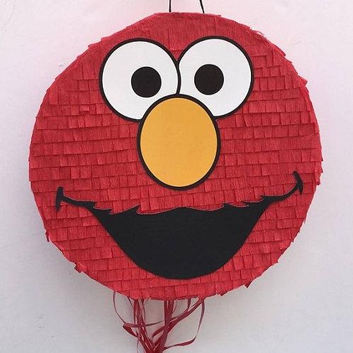 Sesame Street Elmo Birthday Party Pull Strings Pinata -35cm