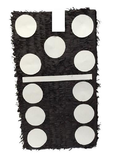 Dominoe Birthday Party Pull Strings Pinata -40cm