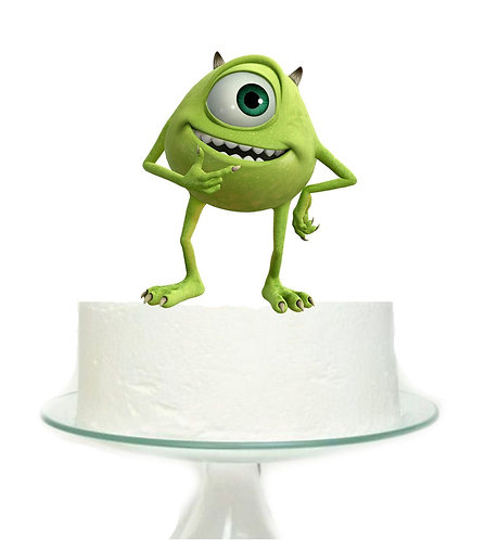 Monsters Inc Green Big Topper for Cake - 1 pcs set