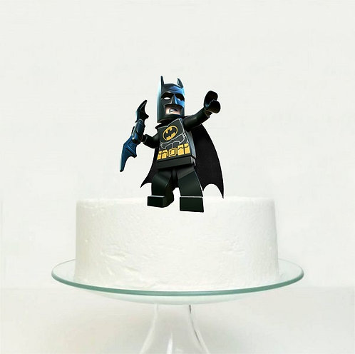 Batman Lego Big Topper for Cake - 1 pcs set