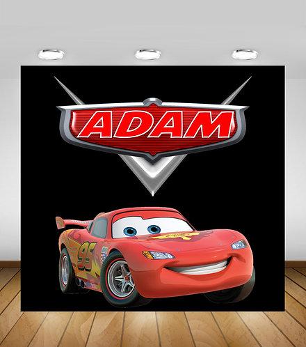 Cars Backdrop