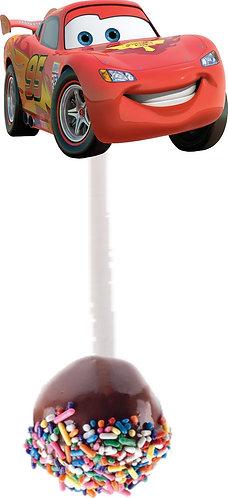Cars Cakepops Toppers - 12 pcs set