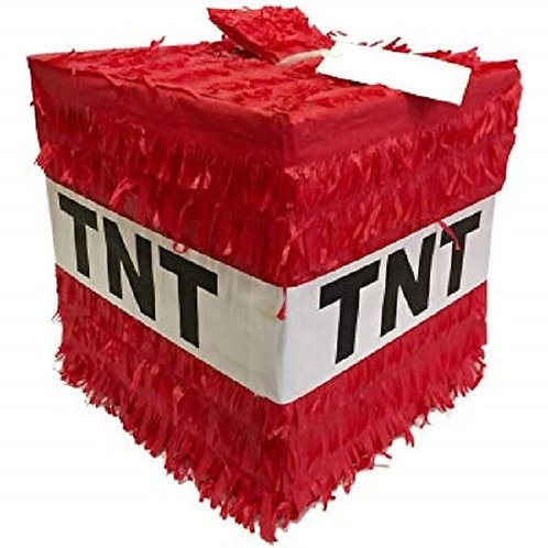 TNT Gamer Birthday Party Pull Strings Pinata - 35 cm