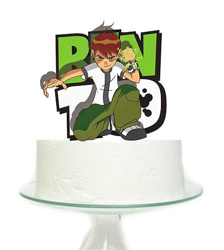 Ben 10 Big Topper for Cake - 1 pcs set
