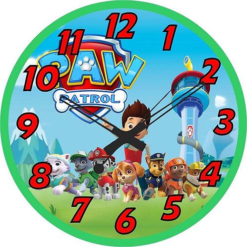 Paw Patrol Clock