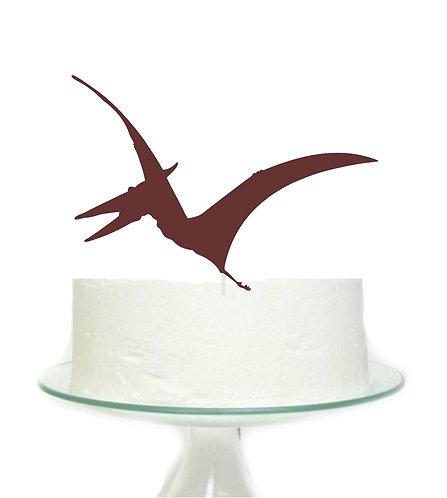 Brown Dinosaur Big Topper for Cake - 1 pcs set