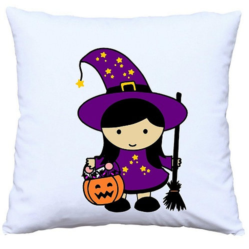 Halloween Witch Cushion Decorative Pillow - 40cm