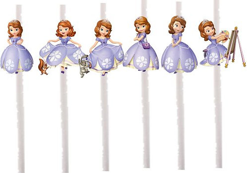 Princess Sofia the First Cakepops Toppers - 12 pcs s