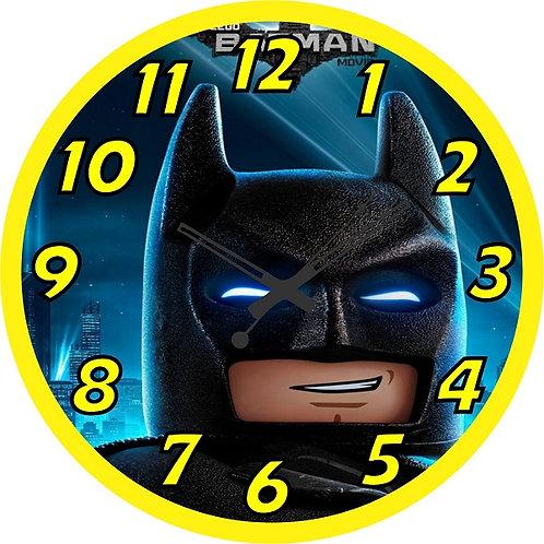 Batman Lego  Clock