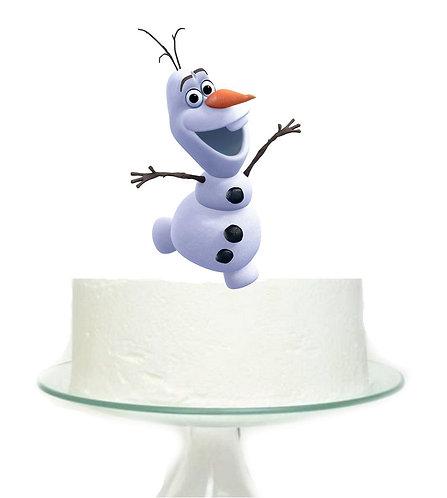 Frozen Olaf Big Topper for Cake - 1pcs set