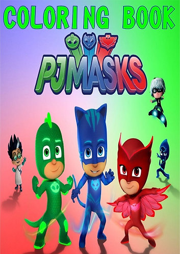 Pj Masks Small Coloring Book