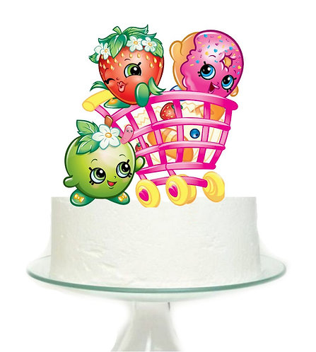 Shopkins Big Topper for Cake - 1 pcs set