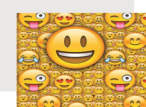 Emoji Invitations - 6pcs party invites