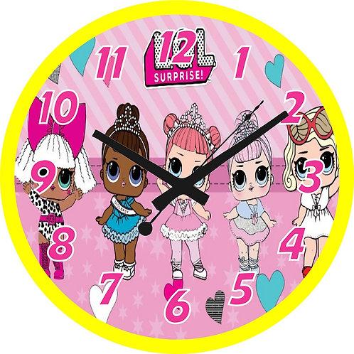 Lol Surprise Dolls Clock