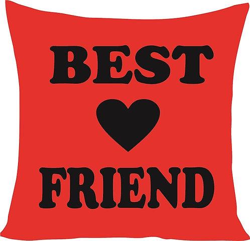 Valentines Day Best Friend Cushion Decorative Pillow - 40cm