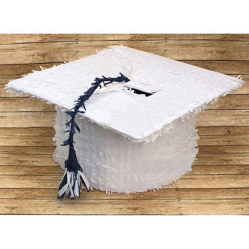 Graduation Hat Party Pull Strings Pinata - 35 cm