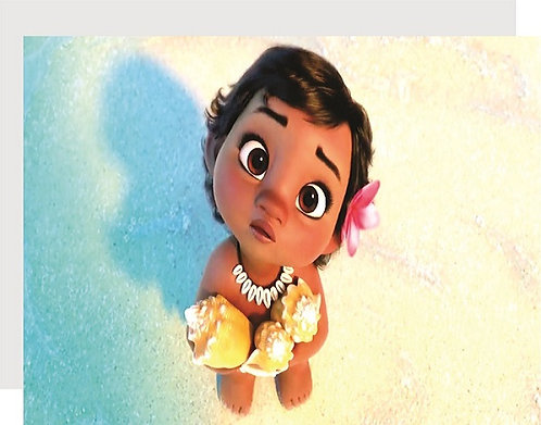 Moana Baby Invitations - 6pcs party invites